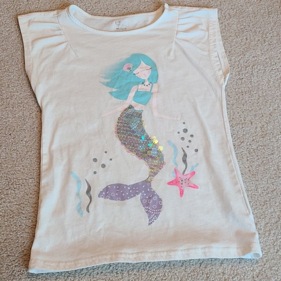 The Children's Place flip sequence mermaid shirt